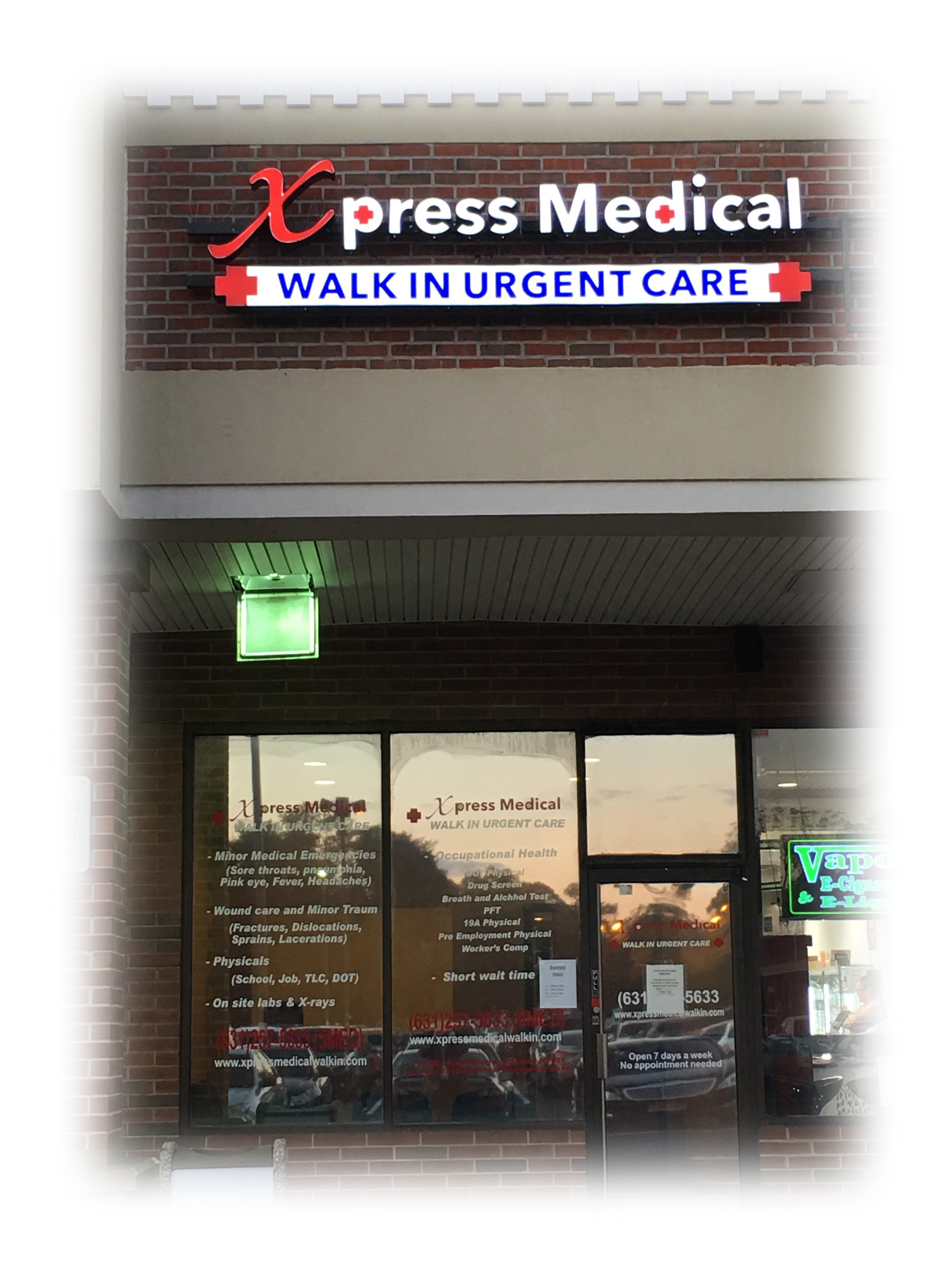 Xpress Medical Walk In Urgent Care Smithtown Long Island Location
